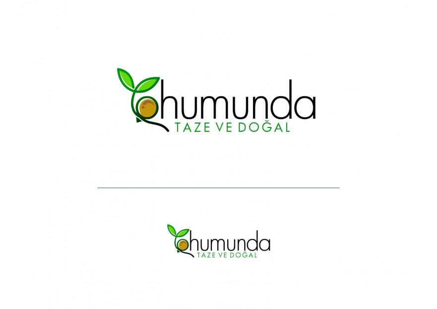 Taze ve Doğal Gıdalarımız için Logo yarışmasına tasarımcı grafikodam tarafından sunulan  tasarım