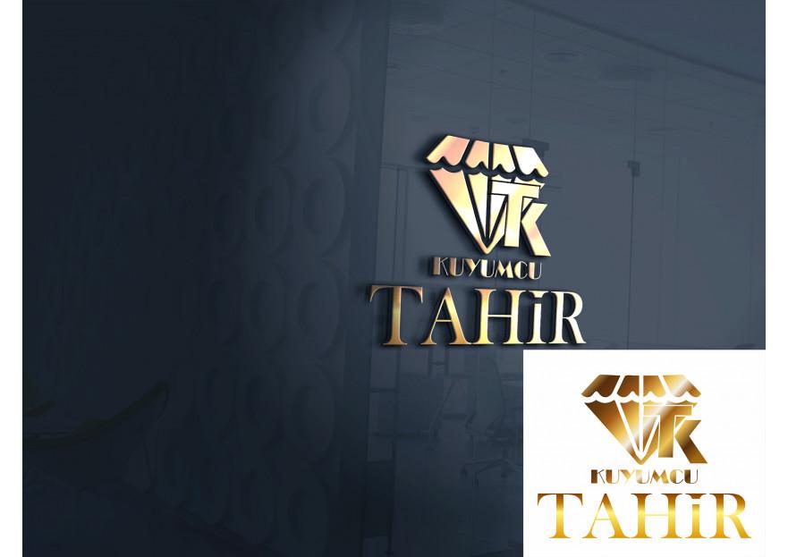 Kuyumcu Tahir -Farklı dikkat çeken logo  yarışmasına tasarımcı aysedesign tarafından sunulan  tasarım