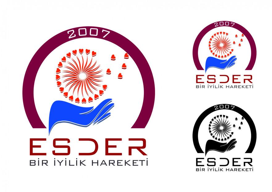Yardımlaşma Derneği Logo Tasarımı yarışmasına tasarımcı Memo tarafından sunulan  tasarım