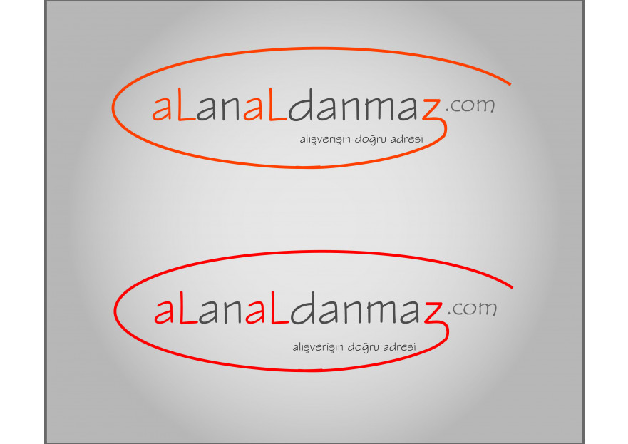 E-Ticaret Sitesi Logo Tasarımı yarışmasına tasarımcı b_design tarafından sunulan  tasarım