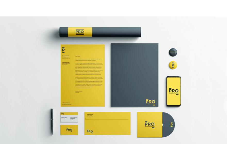 BİR İNŞAAT ŞİRKETİ İÇİN LOGO VE KURUMSAL yarışmasına tasarımcı Odesign tarafından sunulan  tasarım
