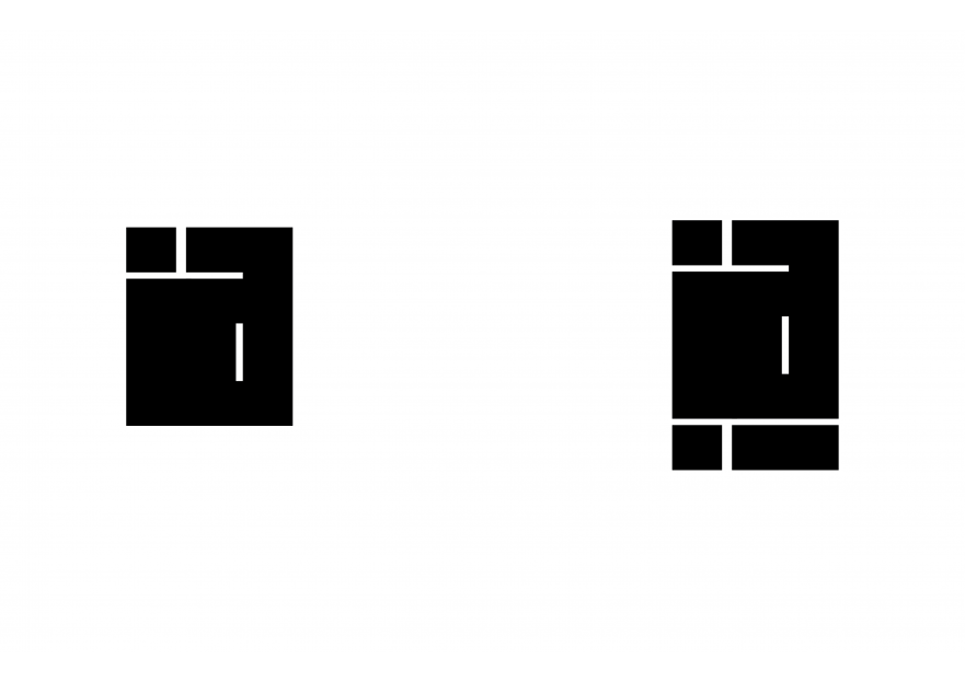 Kişisel logo tasarımı yarışmasına tasarımcı Thomas Bewick tarafından sunulan  tasarım