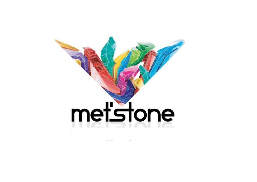 Met'Stone markası için logo tasarımı yarışmasına HakanAbi tarafından girilen tasarım