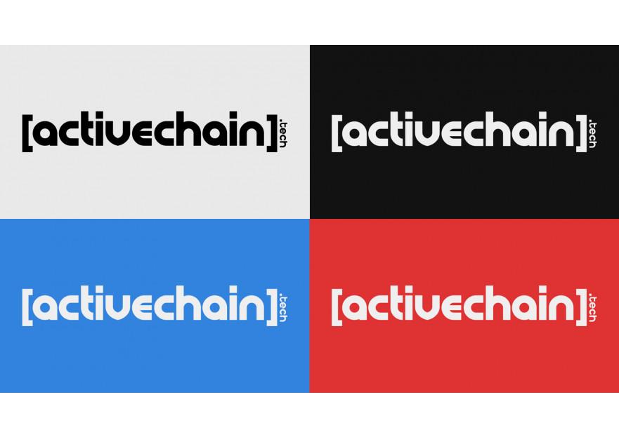 ActiveChain.tech Logo Yarismasi yarışmasına tasarımcı itsbrk tarafından sunulan  tasarım