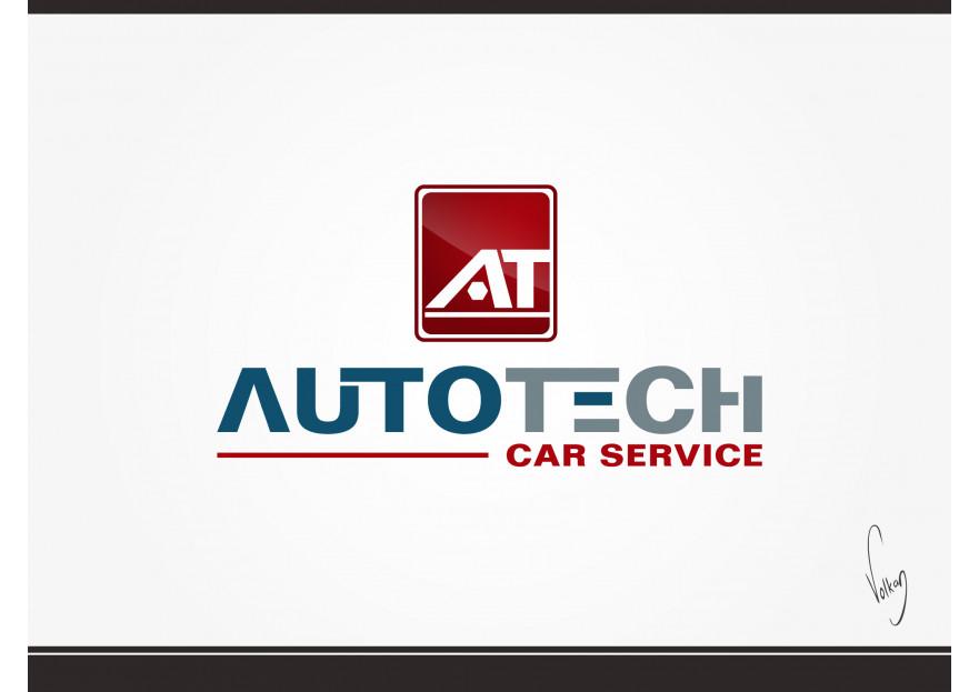 AUTOTECH CAR SERVICE Logo Tasarimi yarışmasına tasarımcı volkanKocaman tarafından sunulan  tasarım