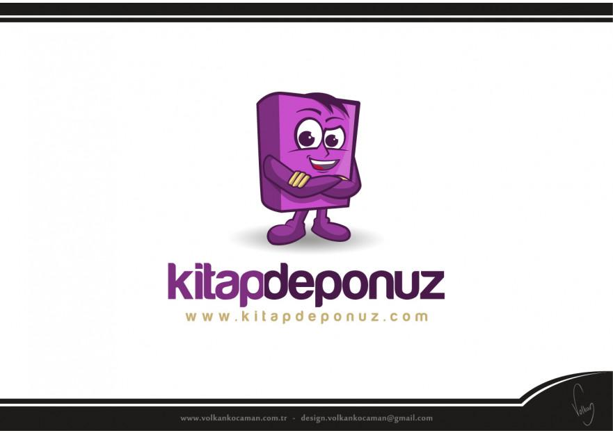 Kitapdeponuz.com yarışmasına volkanKocaman tarafından girilen tasarım