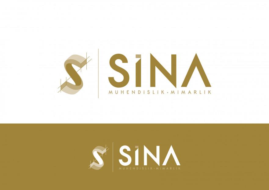 Sina Mimarlık Logosunu arıyor yarışmasına tasarımcı DD Sanat™ tarafından sunulan  tasarım