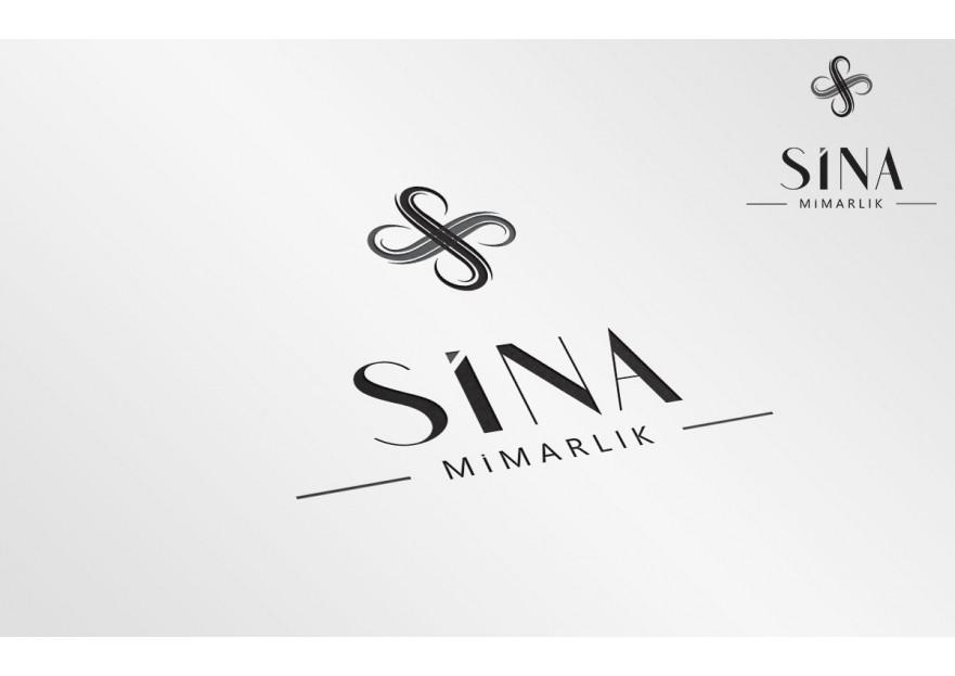 Sina Mimarlık Logosunu arıyor yarışmasına tasarımcı ES TASARIM tarafından sunulan  tasarım