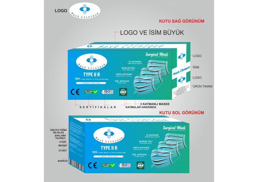 Premium Maske Kutu Dizaynı yarışmasına tasarımcı Yigittoksoy tarafından sunulan  tasarım