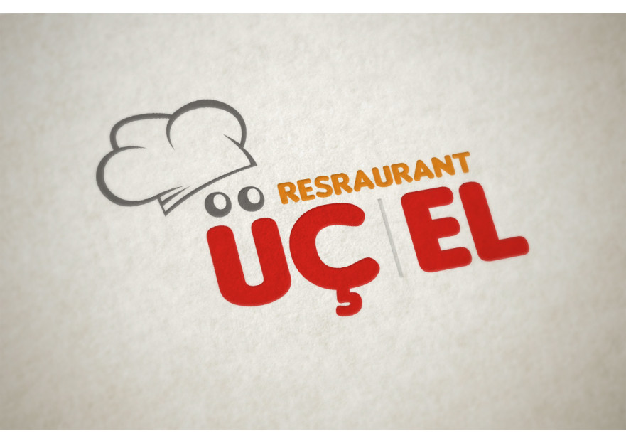 Üç-El Restaurant Kurumsal Kimlik yarışmasına bulutweb tarafından girilen tasarım