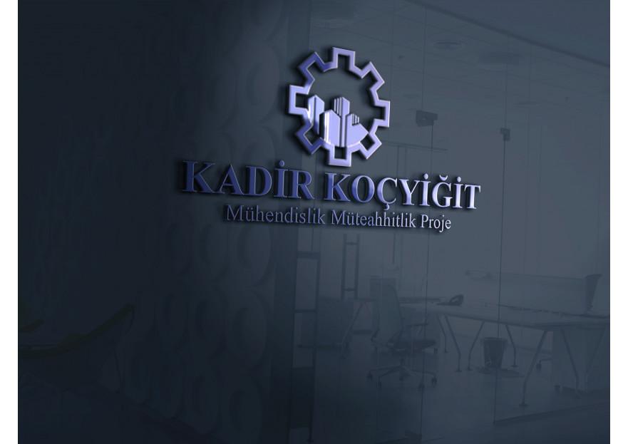 Şirketim için logo desteği (Kadir Koçyiğit) yarışmasına tasarımcı byrıfkı tarafından sunulan  tasarım