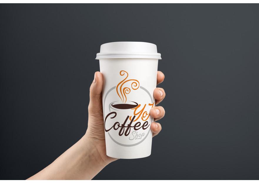 Kahveci Logosu yarışmasına tasarımcı ogzhnygns tarafından sunulan  tasarım