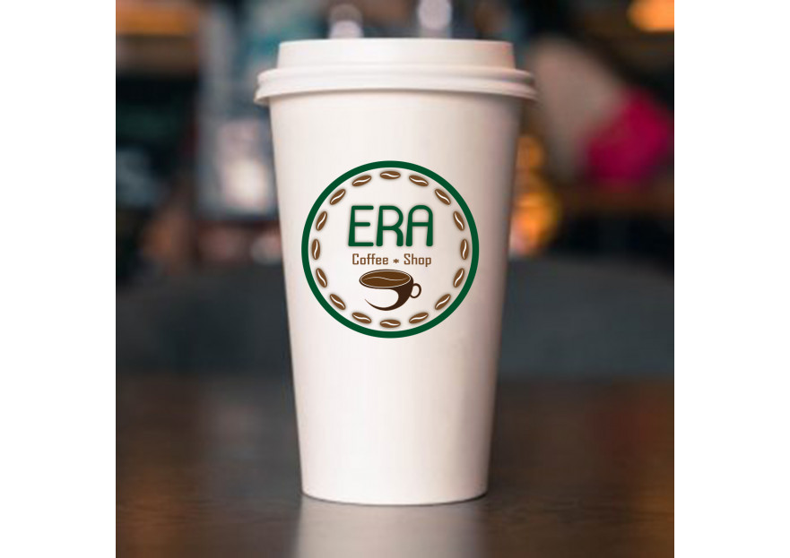 Kahve Dükkanı için Logo yarışmasına tasarımcı Superisi2012 tarafından sunulan  tasarım