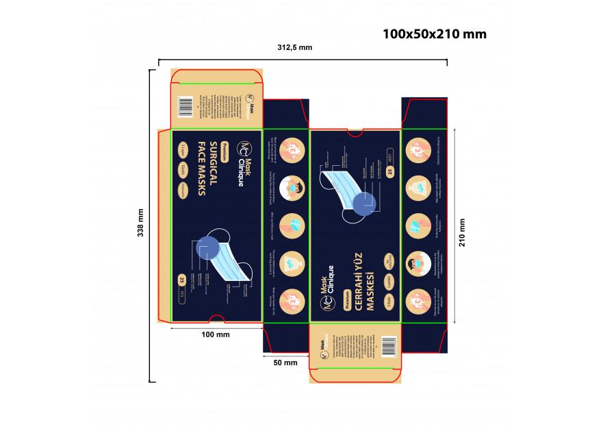 Premium Maske Kutu Dizaynı yarışmasına tasarımcı FSU Design tarafından sunulan  tasarım