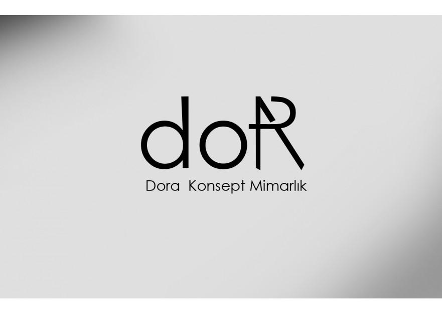 Dora Konsept Mimarlık Logosunu arıyor yarışmasına tasarımcı LogoPix tarafından sunulan  tasarım