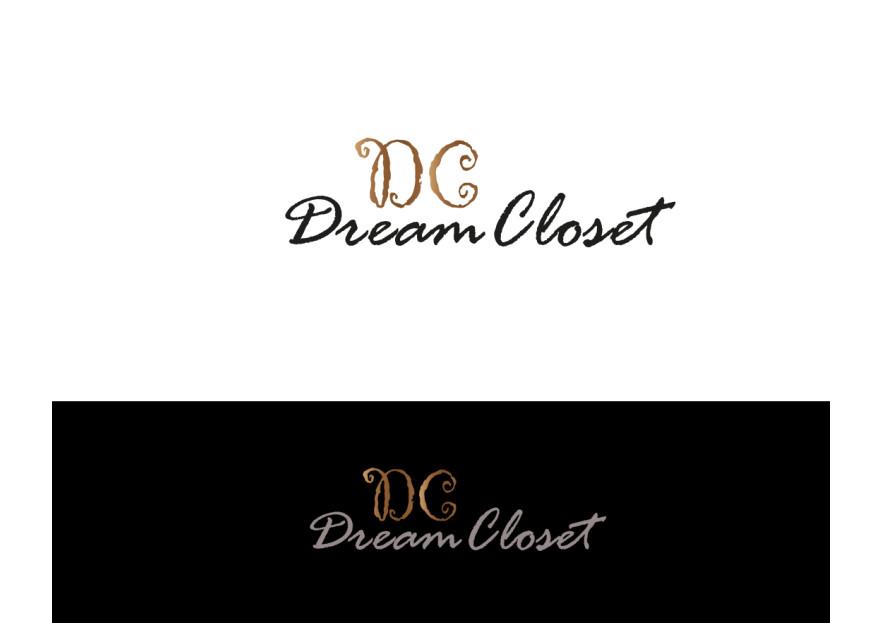 DreamCloset.net Logo yarışmasına tasarımcı Mucize ★☆✮✯★ tarafından sunulan  tasarım