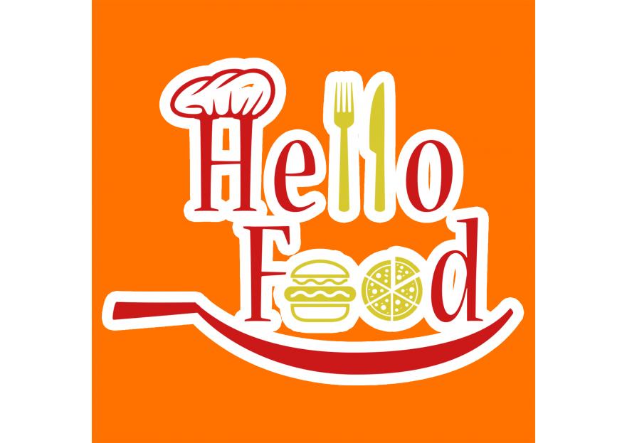 Hello Food uygulamasına logo yarışmasına tasarımcı alitaze007 tarafından sunulan  tasarım
