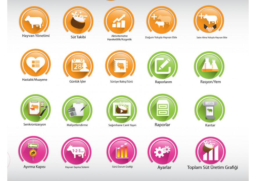 Online Yazılım İkonları yarışmasına tasarımcı rainboy tarafından sunulan  tasarım