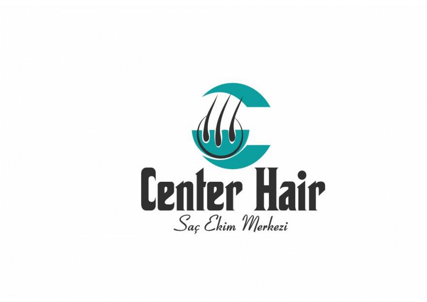 Uluslararası Saç Ekim Merkezi için Logo yarışmasına tasarımcı elifgrafikdesign tarafından sunulan  tasarım