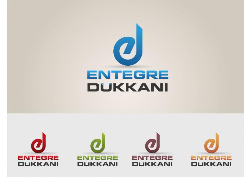 Entegre Dükkanı Logosunu Arıyor yarışmasına tasarımcı serd@r tarafından sunulan  tasarım