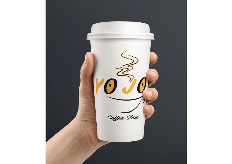 Kahveci Logosu yarışmasına tasarımcı -DW- tarafından sunulan  tasarım