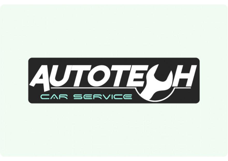 AUTOTECH CAR SERVICE Logo Tasarimi yarışmasına tasarımcı nuriQocca tarafından sunulan  tasarım