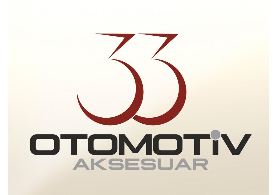 33 Otomotiv & Aksesuar Logo Tasarım. yarışmasına reklamadam tarafından girilen tasarım