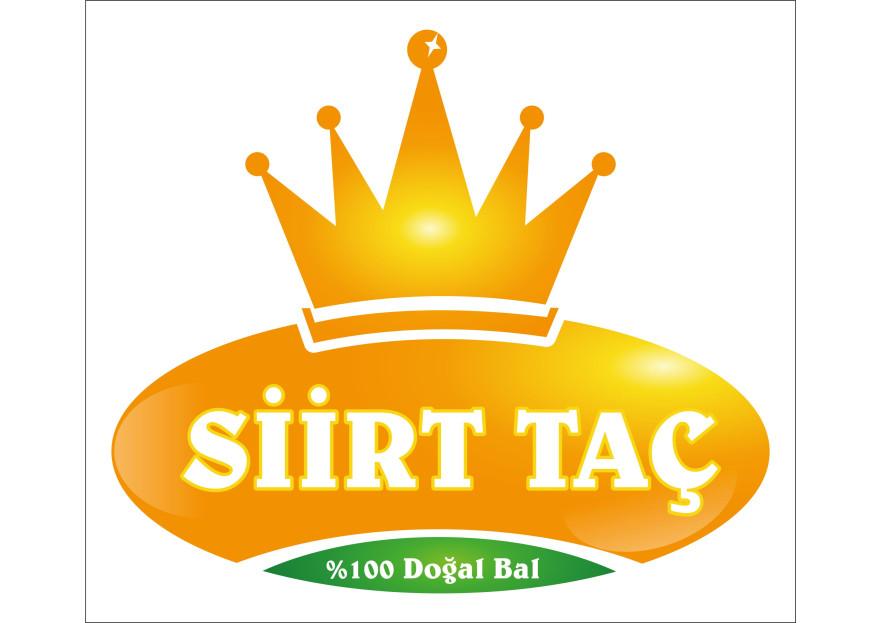 Siirt Taç Bal Logo yarışmasına tasarımcı huseyindnc tarafından sunulan  tasarım