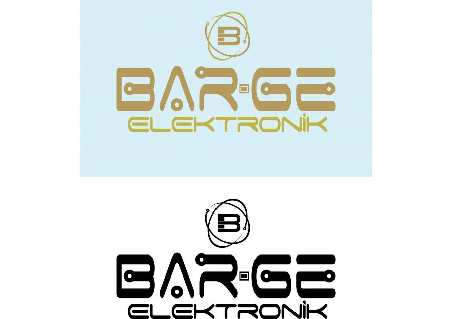 BAR-GE Elektronik için LOGO tasarımı yarışmasına ekiyakli tarafından girilen tasarım