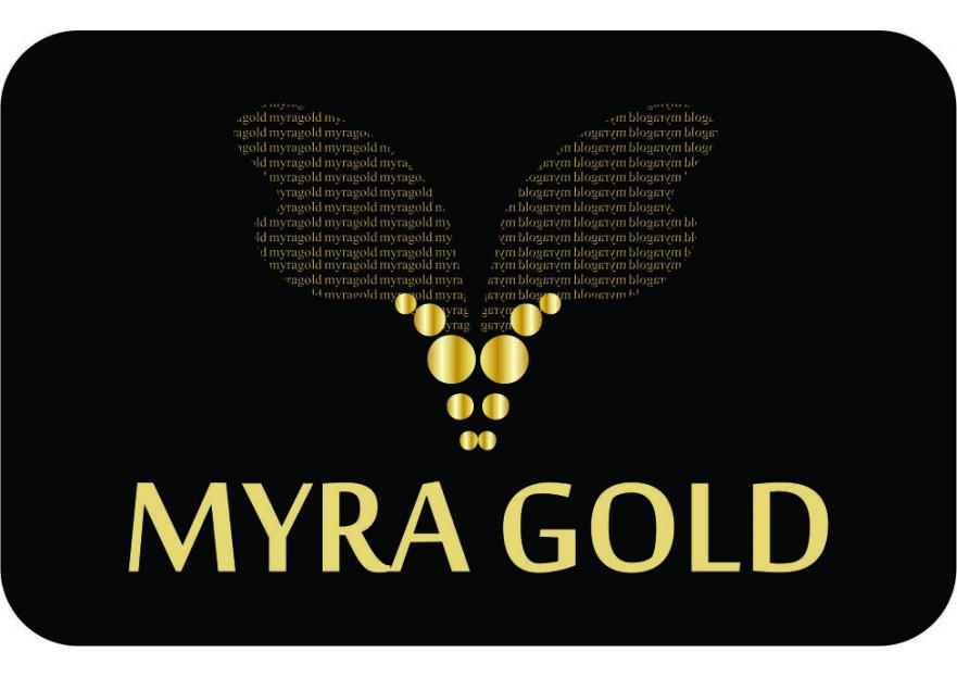 Myra Gold Kurumsal Kimlik Logosu yarışmasına tasarımcı Bortecene tarafından sunulan  tasarım