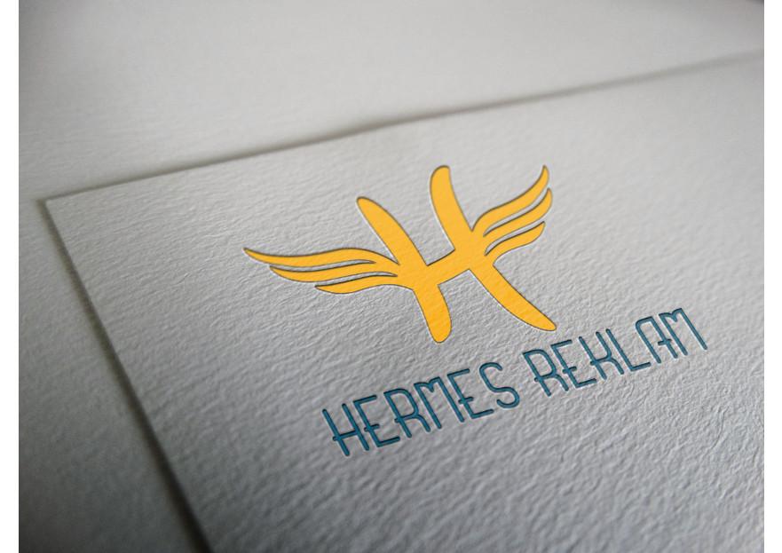 Hermes logo ve kurumsal kimlik yarışması yarışmasına tasarımcı buse.kavaklii tarafından sunulan  tasarım