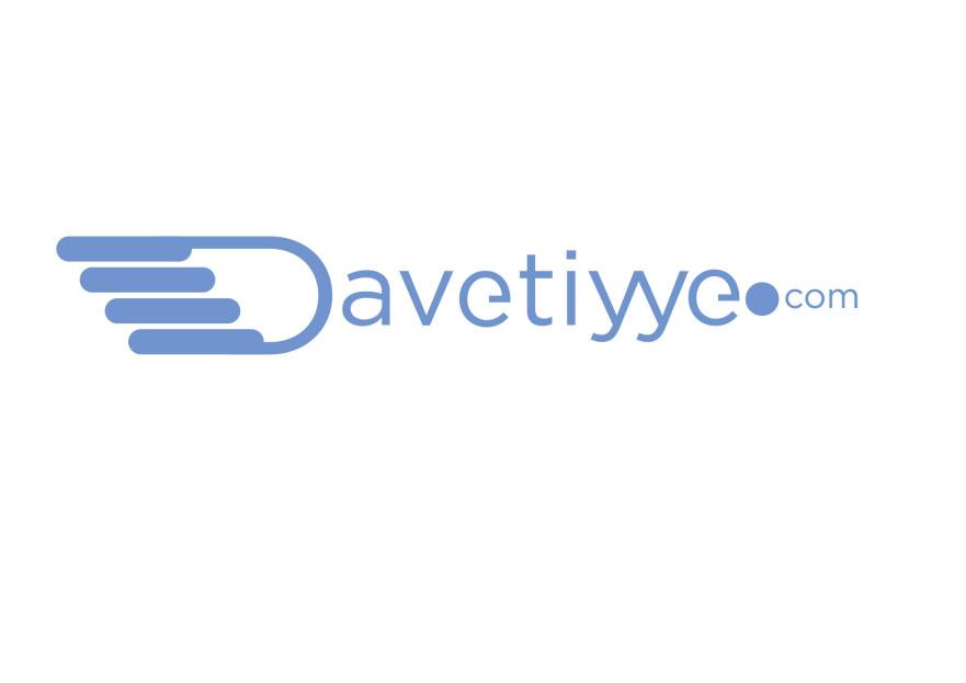 Davetiye E-Ticaret Sitesi Logo Tasarımı yarışmasına tasarımcı Rachid tarafından sunulan  tasarım