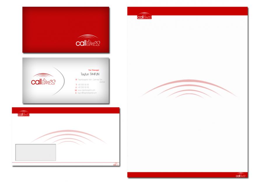 Çağrı merkezi için logo ve kimlik yarışmasına tasarımcı DirtyBlack tarafından sunulan  tasarım