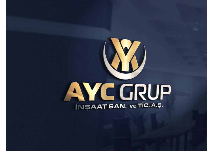 AYC Grup için logo tasarım yarışması yarışmasına tasarımcı 3dfatih tarafından sunulan  tasarım