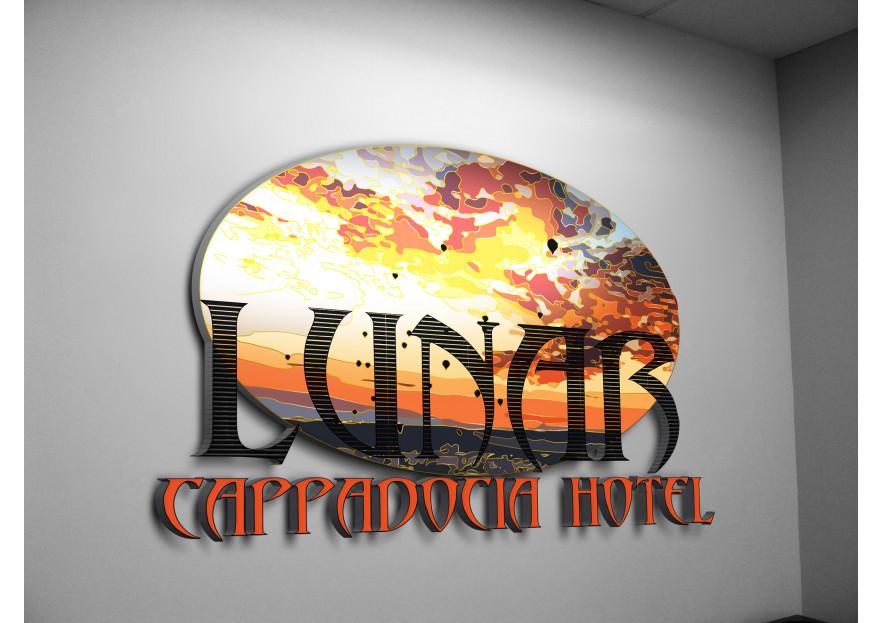 Kapadokya'da Hotel Logo ve Kurumsal Kiml yarışmasına tasarımcı rojo_fuego tarafından sunulan  tasarım