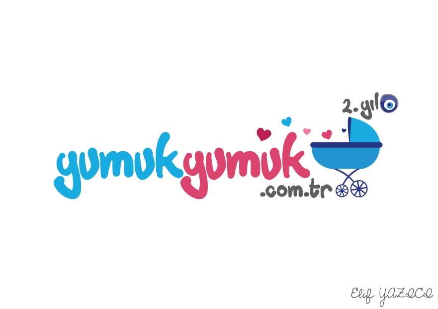 YUMUKYUMUK.COM.TR Logo ve Amblem Tasarım yarışmasına ElifYAZICI tarafından girilen tasarım
