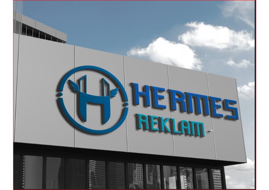 Hermes logo ve kurumsal kimlik yarışması yarışmasına ekiyakli tarafından girilen tasarım