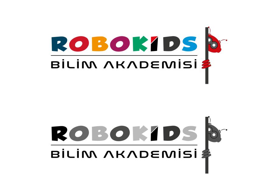 Çocuk Bilim Akademisi içn LOGO ve Yazı yarışmasına designx tarafından girilen tasarım