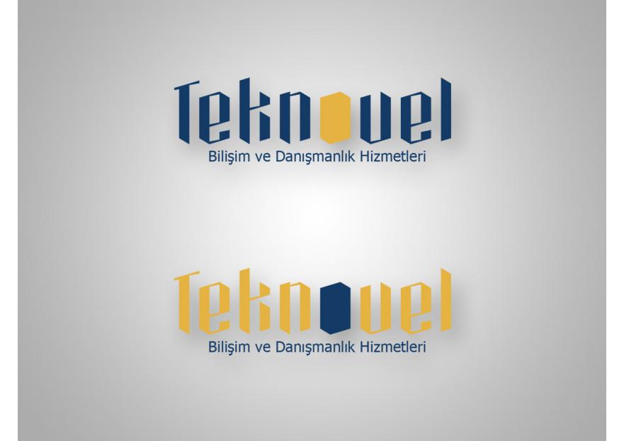 Bilisim ve Danismanlik firmasi icin logo yarışmasına tasarımcı ozkurt tarafından sunulan  tasarım