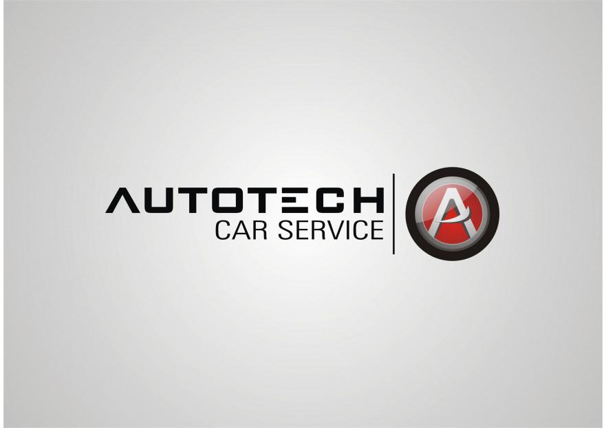 AUTOTECH CAR SERVICE Logo Tasarimi yarışmasına tasarımcı lices tarafından sunulan  tasarım