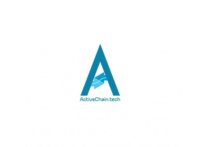ActiveChain.tech Logo Yarismasi yarışmasına tasarımcı kısacased tarafından sunulan  tasarım