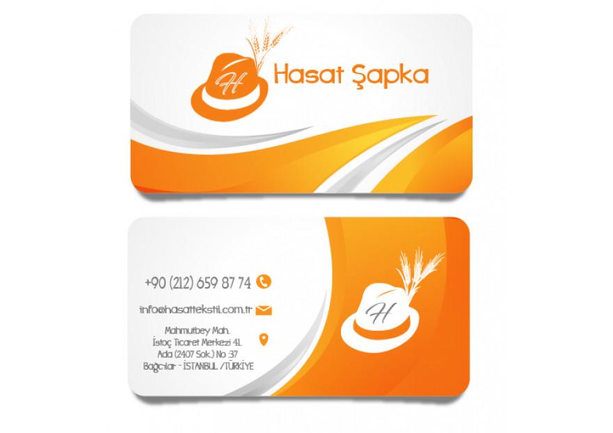 Ht Hasat Şapka Logo çalışması yarışmasına tasarımcı busrakaplannn tarafından sunulan  tasarım