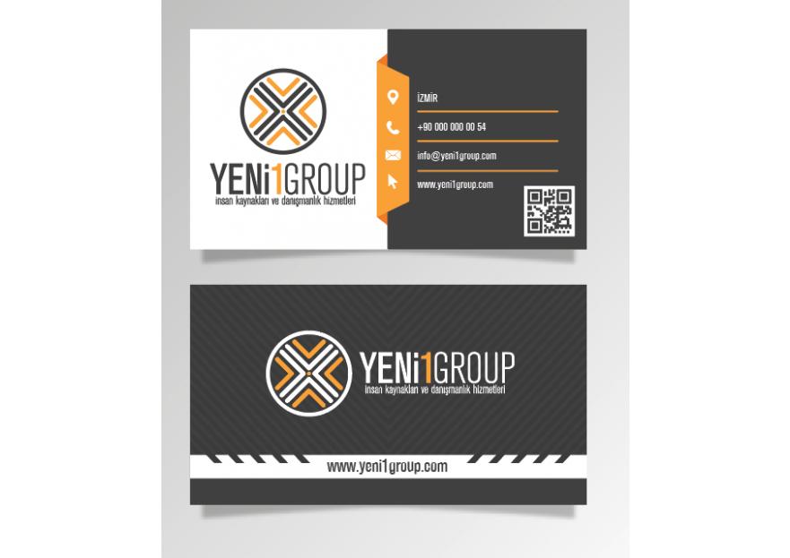 İnsan kaynakları için logo ve kartvizit  yarışmasına tasarımcı ilhan tarafından sunulan  tasarım