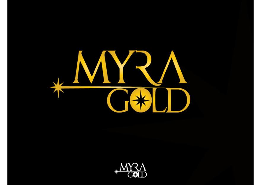Myra Gold Kurumsal Kimlik Logosu yarışmasına tasarımcı hknakar tarafından sunulan  tasarım