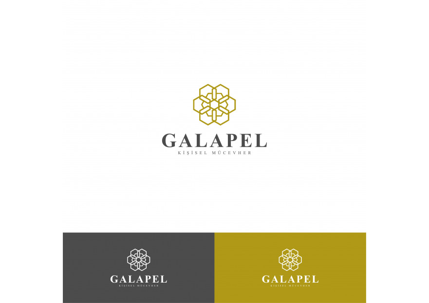 Mücevher markası logo  yarışmasına tasarımcı Berkant tarafından sunulan  tasarım