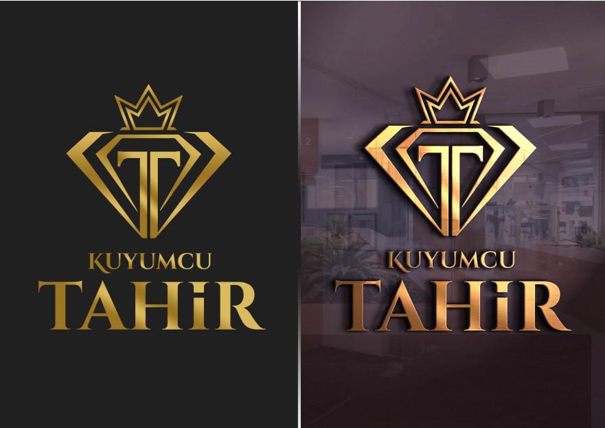 Kuyumcu Tahir -Farklı dikkat çeken logo  yarışmasına tasarımcı A.Güler tarafından sunulan  tasarım