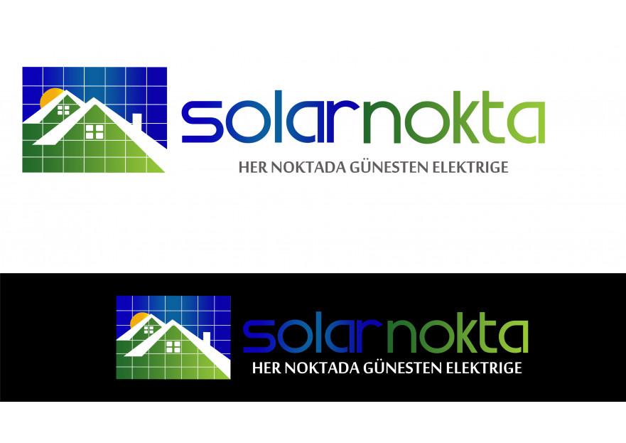 solarnokta şirketi Logo Tasarım  yarışmasına tasarımcı siesta tarafından sunulan  tasarım