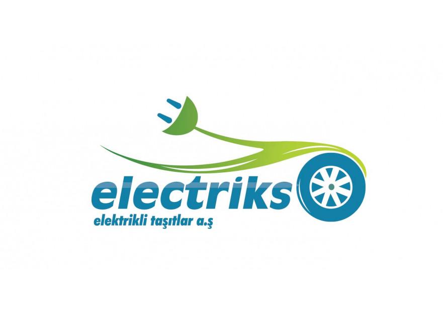 elektriks elektrikli taşıtlar a.ş logosu yarışmasına B14 tarafından girilen tasarım