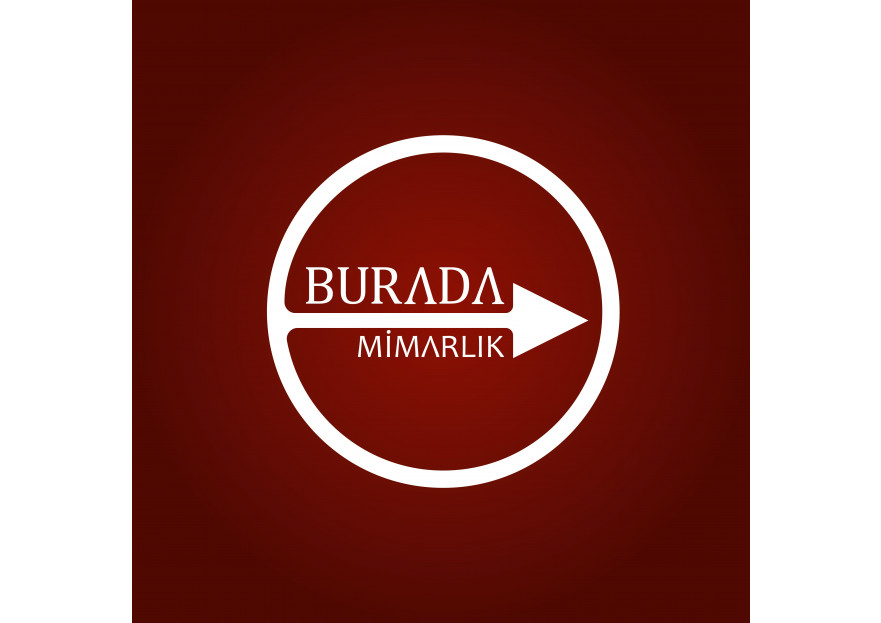 Burada Mimarlık Logo Tasarımı yarışmasına DEMİR Reklam tarafından girilen tasarım