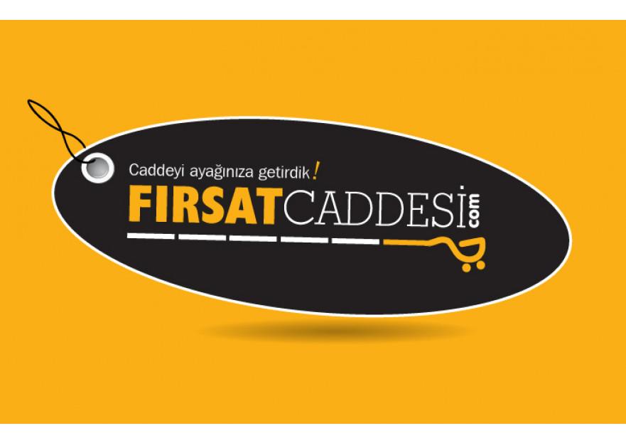 Fırsat Sitesi Logo Tasarımı yarışmasına tasarımcı BaharGok tarafından sunulan  tasarım